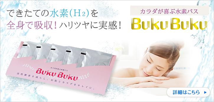 お試し用水素入浴剤 『BukuBuku 5袋入』 /専用ケース付